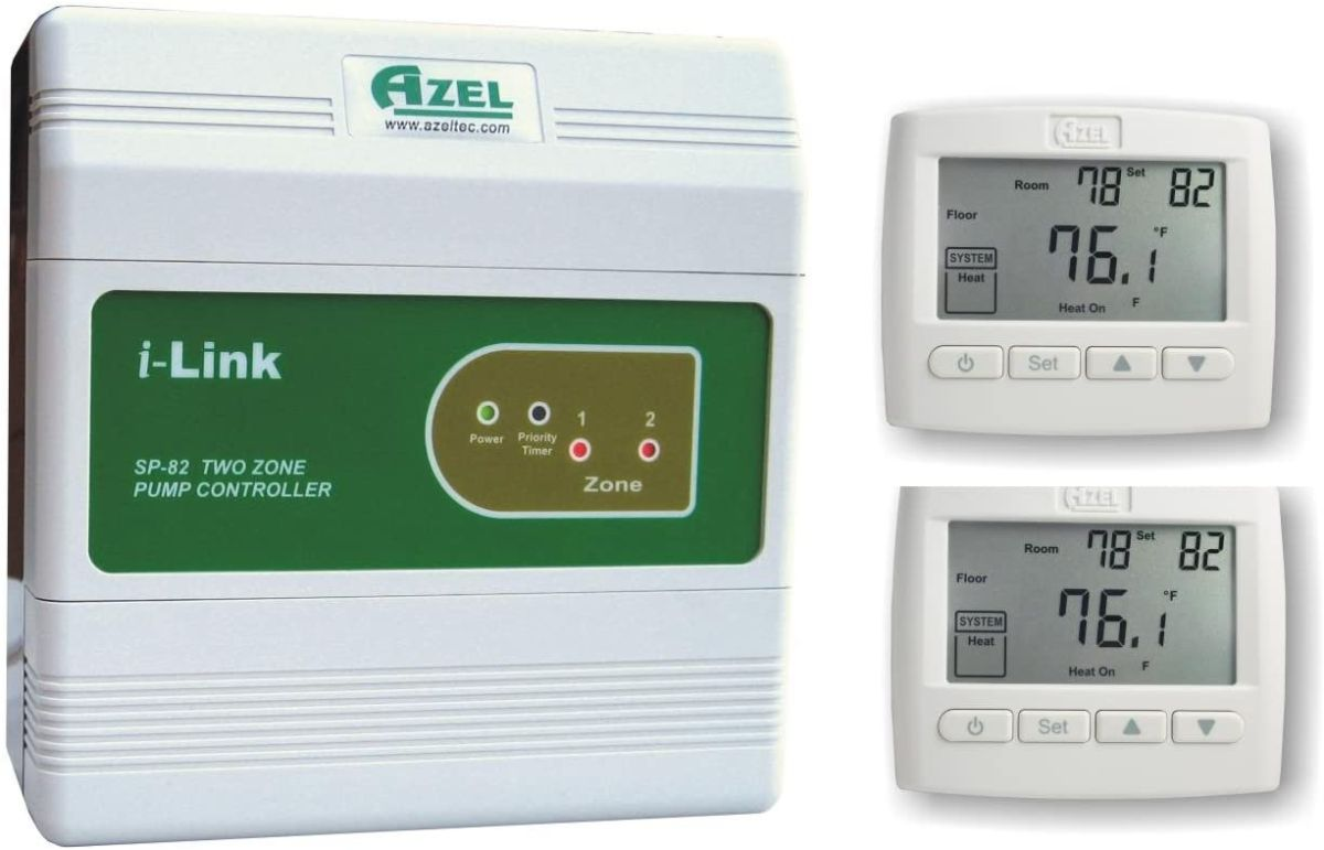 thermostat for radiant floor heating system