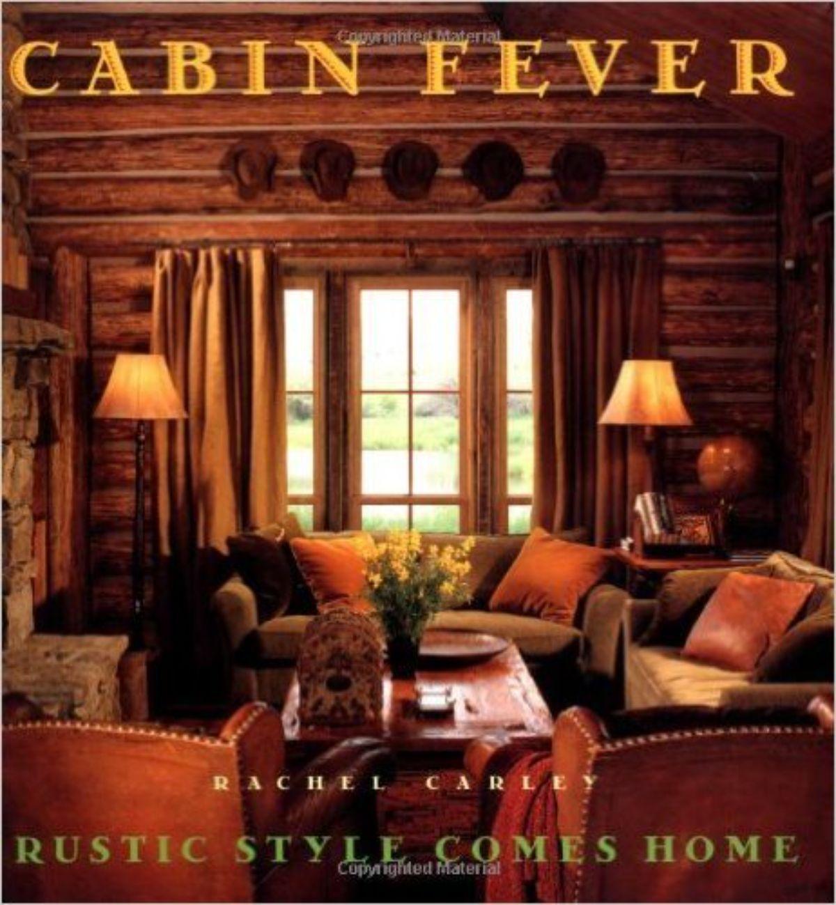 book titled Cabin Fever