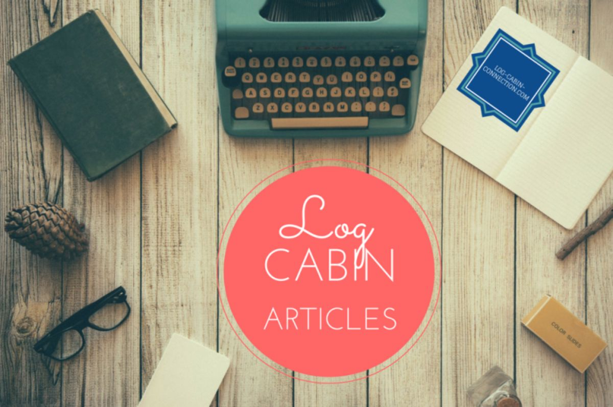 Log Cabin Articles Cover Page