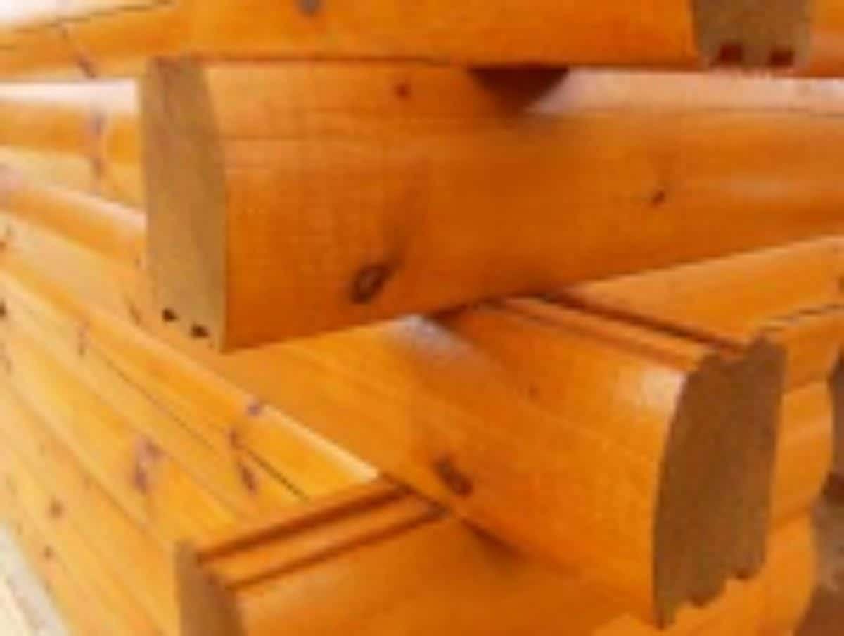 Milled logs