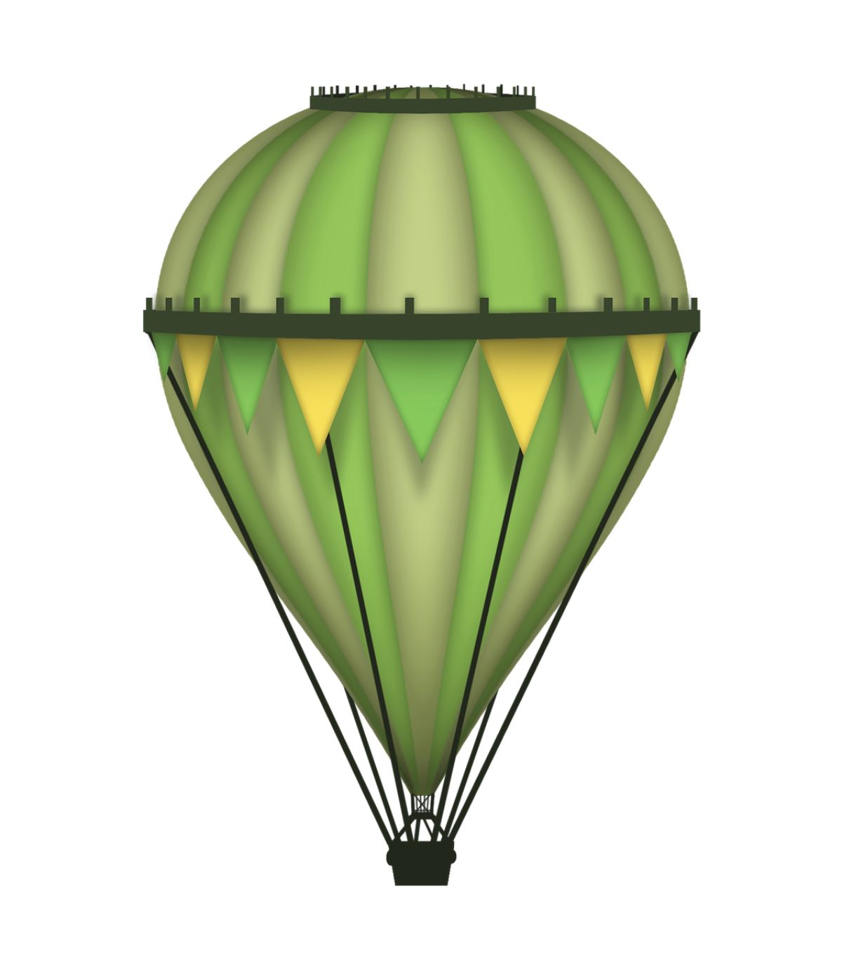 big green parachute