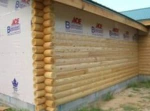 Log Accent sidings