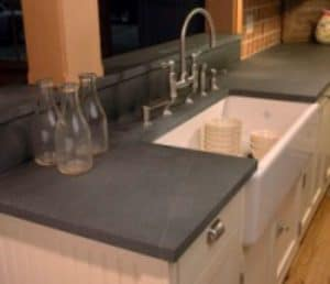 countertop made of soapstone