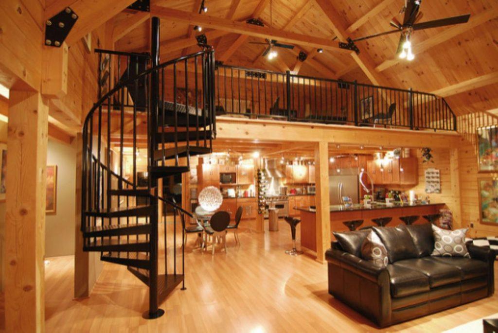 spiral-stairs-cabin-loft