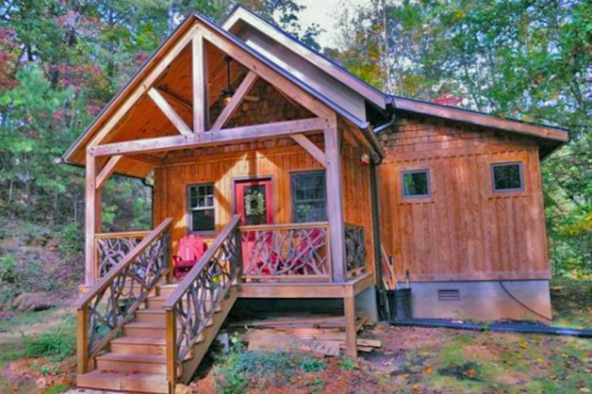 timber frame log cabin kit