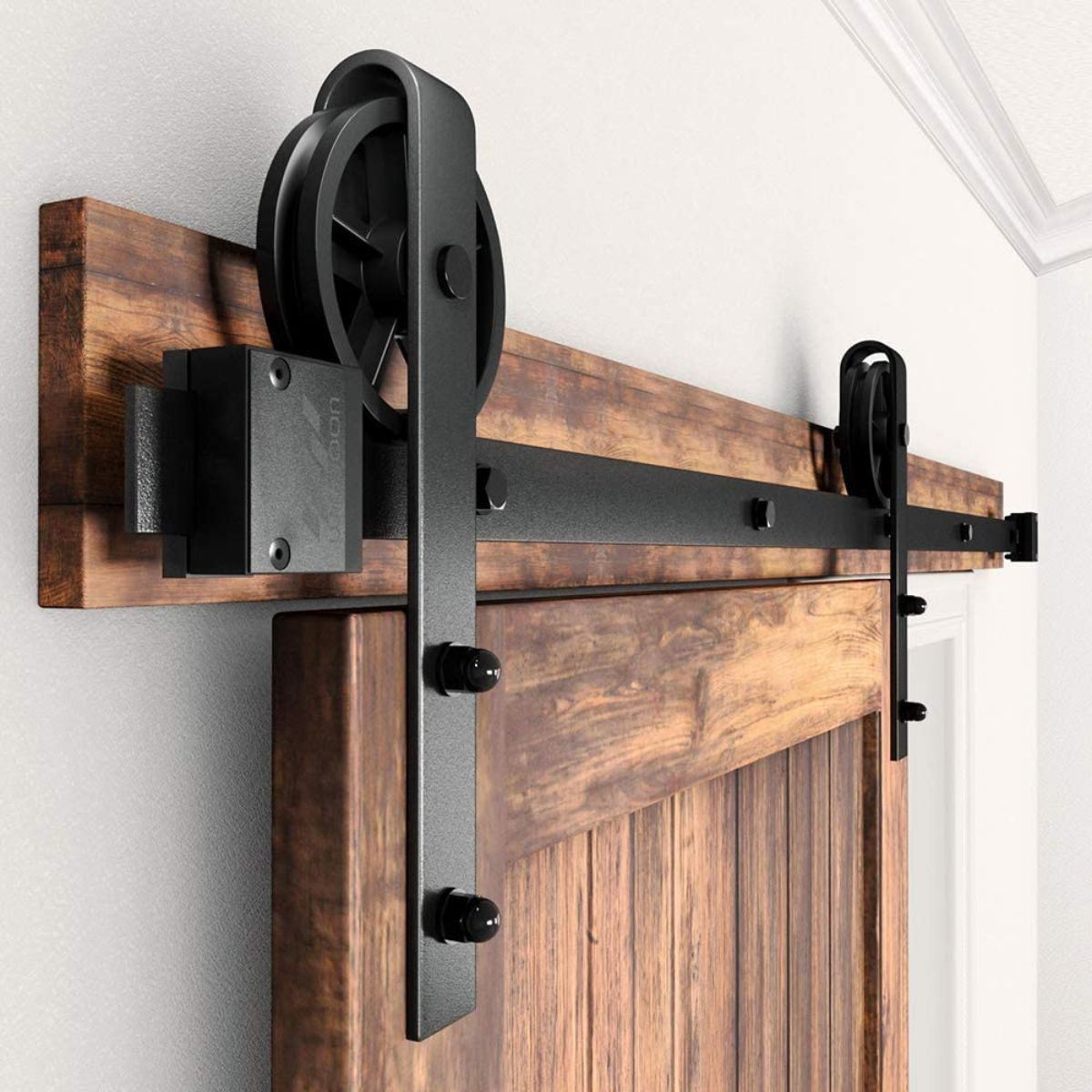 Single Wood Sliding Barn Door